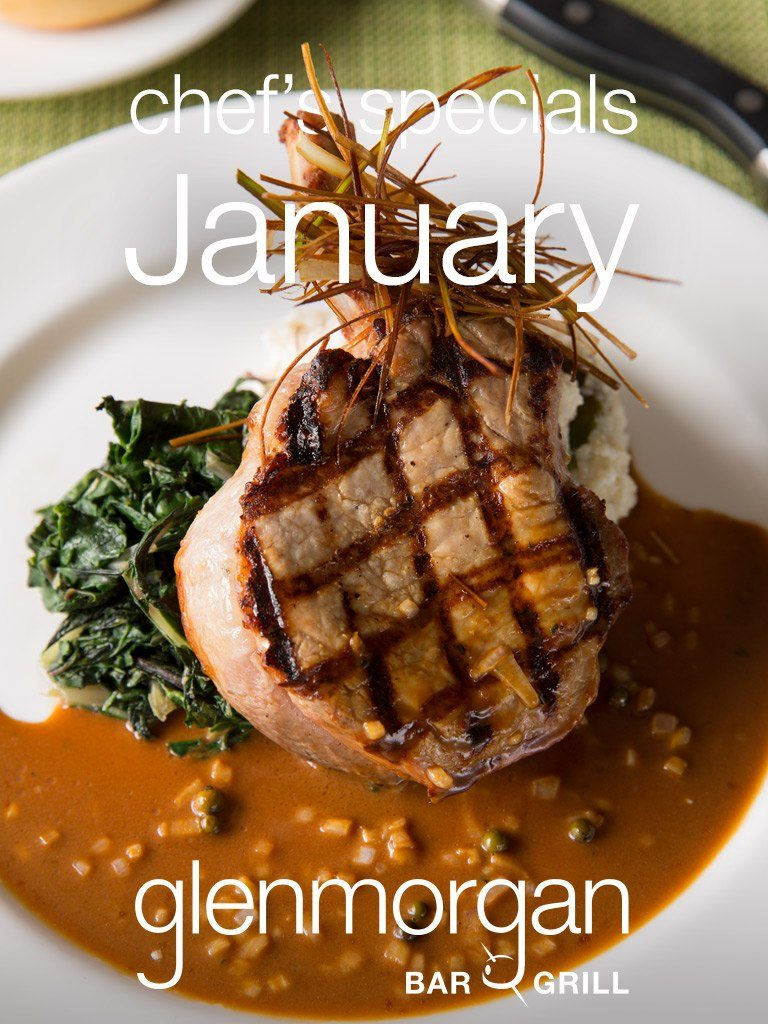 Chef's Specials for January at Glenmorgan