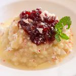 Warm White Chocolate Risotto