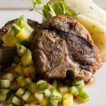 Flame Grilled Lamb Loin Chops