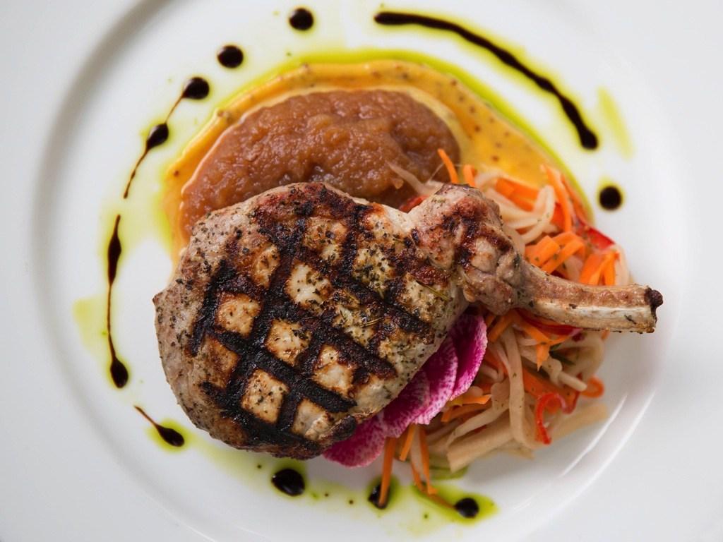 Grilled Pork Chop at Glenmorgan