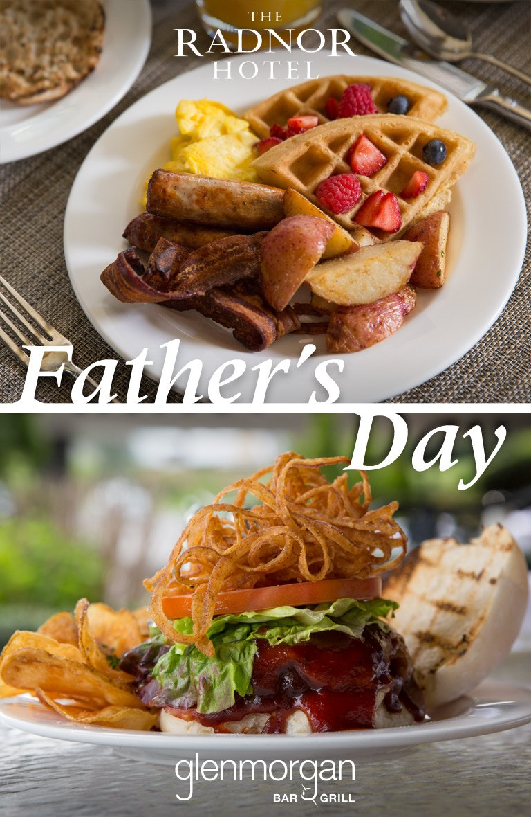 Father's Day Dining at The Radnor and Glenmorgan 2019