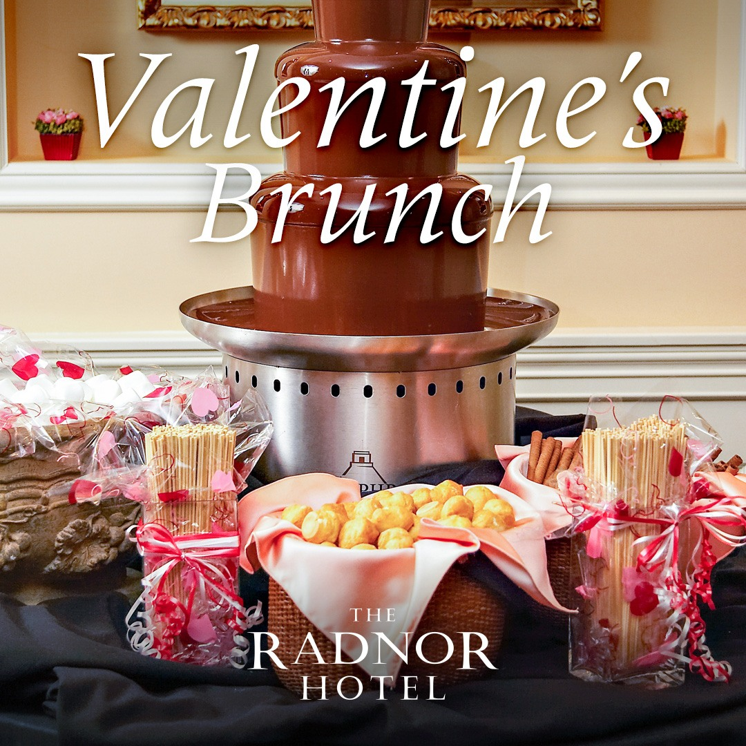 Valentine's Brunch at The Radnor Hotel